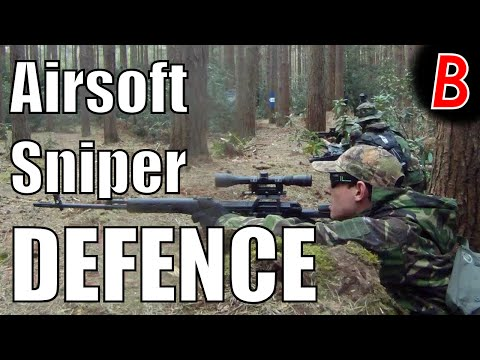 AIRSOFT SNIPER DEFENCE!