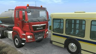 Bus & Truck Crashes 2 - BeamNG Drive