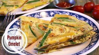 Easy Squash and Onion Omelette