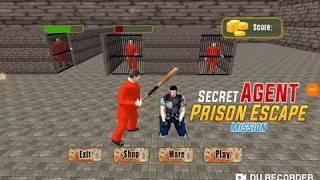 Secret Agent Prison Escape Mission
