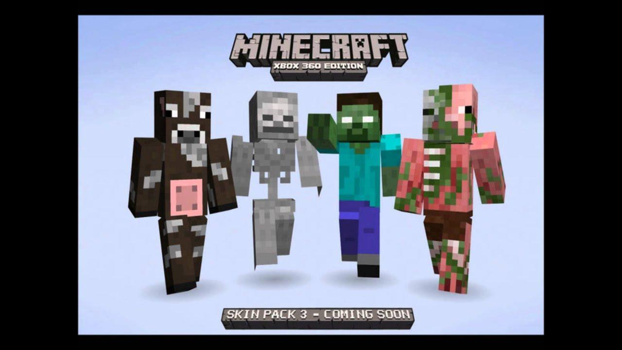 Minecraft (Xbox 11) - Skin Pack 11 REVEALED! + New Screenshots
