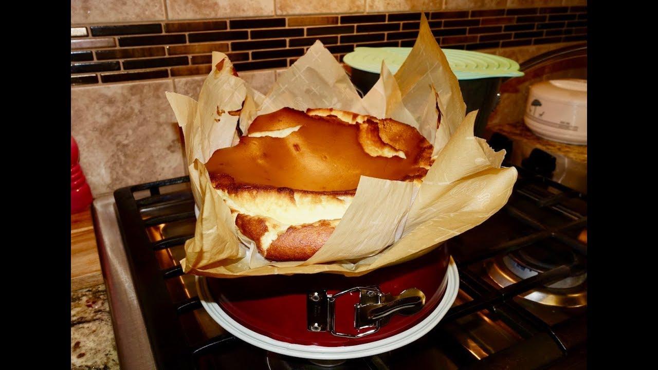 La Viña San Sebastian Baked Cheesecake 100 Authentic Recipe Youtube