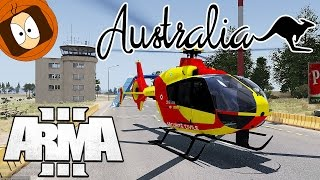 POMPIER DRAGON : ACCIDENT AU CIRCUIT DE VOITURE !! | JAVA LIFE | ARMA 3