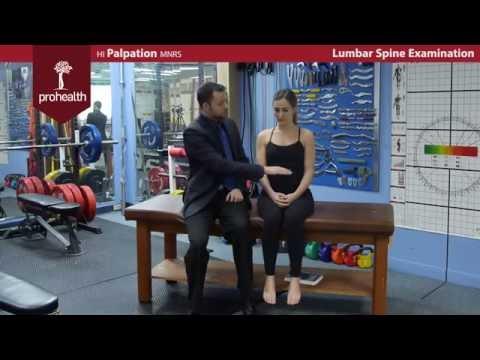 Low Back Lumbar SI Exam Dr  Vizniak brief