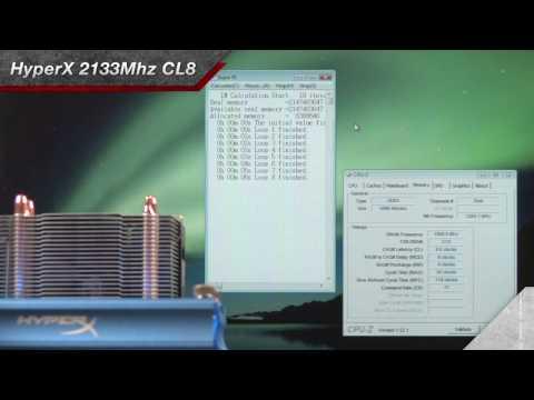 HyperX 2133Mhz CL8, Gigabyte, Intel Lynnfield Core i5, i7 Launch Demo