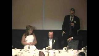 Groom Gets Roasted During Reception