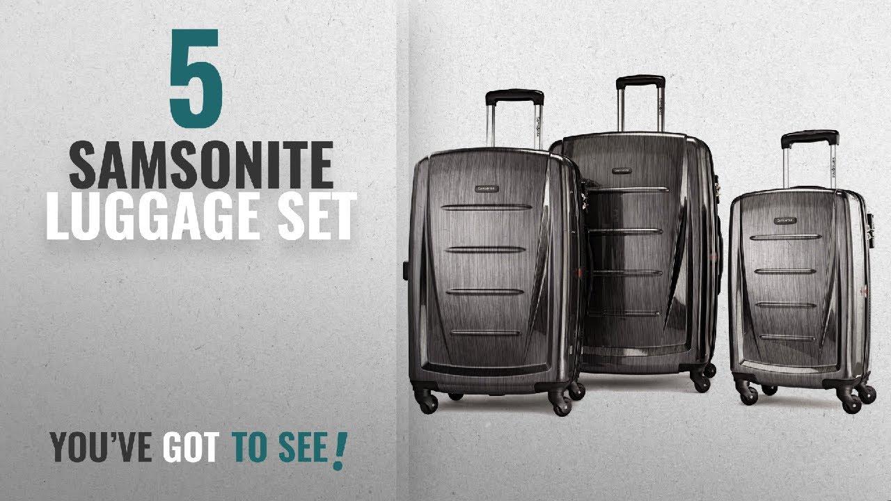 f835fdd781ea Top 10 Samsonite Luggage Set [2018]: Samsonite Winfield 2 3PC Hardside  (20/24/28) Luggage Set,