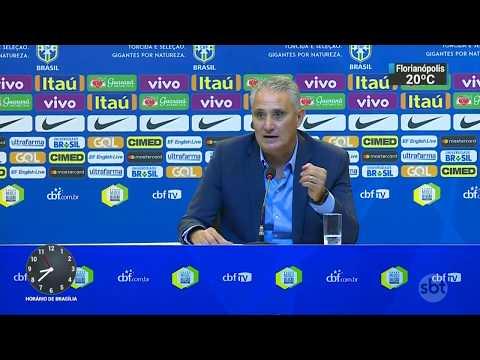 Tite convoca seleção para amistosos; a penúltima convocação antes da Copa | SBT Brasil (20/10/17)