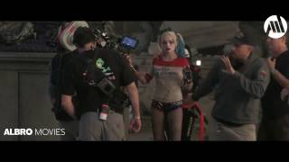 Harley Quinn   Behind the Scene & Visual Effects Suicide Squad Margot Robbie M