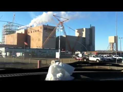 Colonsay Potash Mine Saskatchewan, Canada.