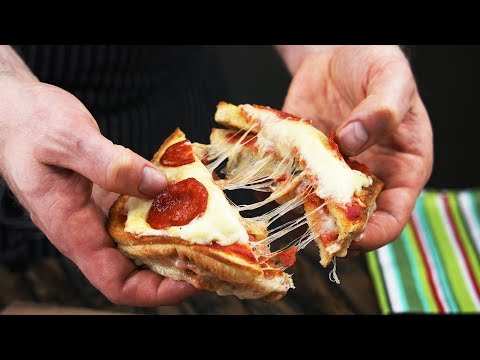 懶人早午餐:披薩三明治