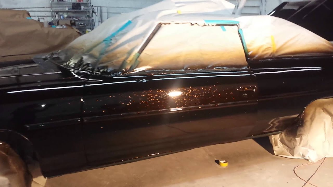 Hok Gold Candy Over Black 1975 Impala 1