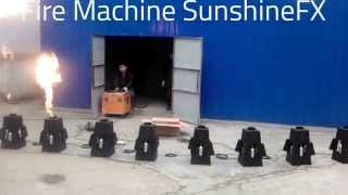 Stage equipment Fire machine/ Flame machine SunshineFX promoted by http://www.addlite.com