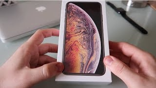 iPhone Xs Max 256gb Gold - Unboxing and Set Up