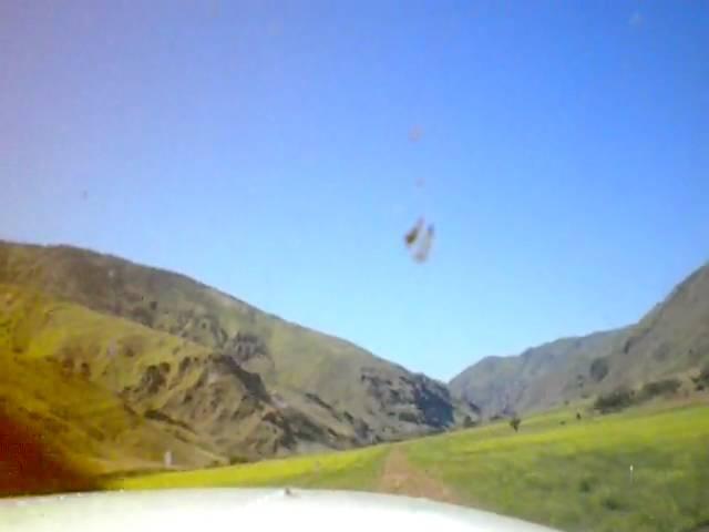Temperance Creek Ranch takeoff