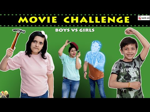 GUESS THE MOVIE CHALLENGE Disney+Hotstar #Funny Family Challenge | Aayu and Pihu Show