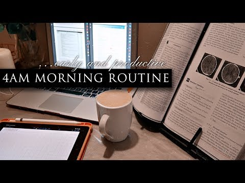 4am MORNING ROUTINE | Productive Morning Routine 2020 | TheStylishMed