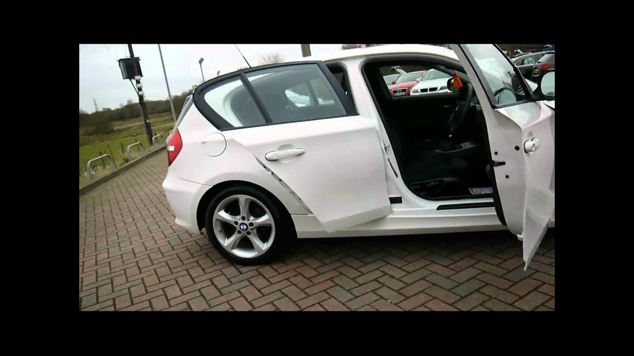 2010 bmw 116i 2 0 sport white for sale in hampshire youtube. Black Bedroom Furniture Sets. Home Design Ideas