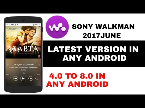 Sony System Original Latest Walkaman Music App install In Any Android