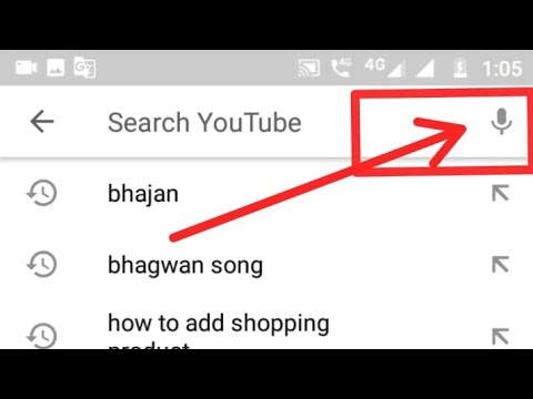 how to enable youtube voice search,enable youtube microphone