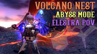 Dragon Nest - Volcano Nest Abyss Mode Elestra POV Playthrough ~!