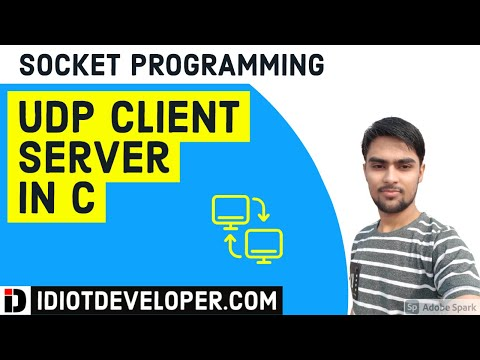 UDP Client Server Program in C