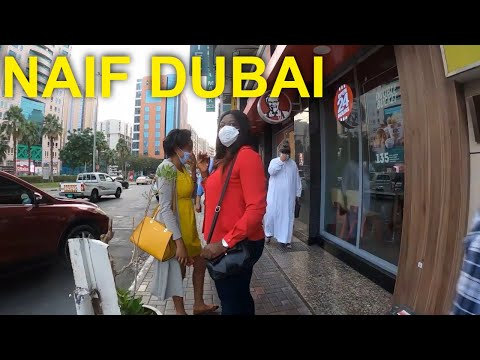 Naif Deira Dubai Afternoon Virtual Street Walking Tour Dec 19, 2020