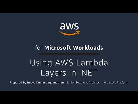 Using AWS Lambda Layers in .NET