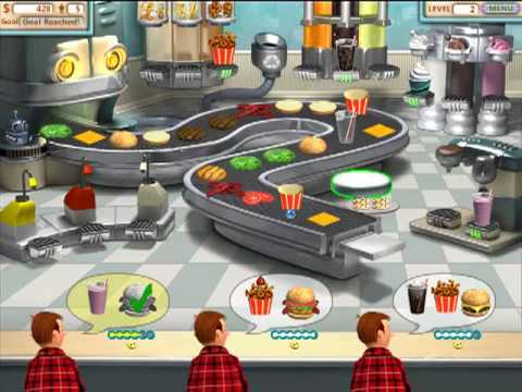 free  games burger shop 4