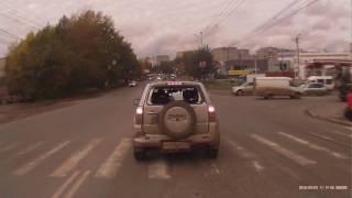Авария Уаз и Suzuki Grand Vitara 23.09.2016 / Accident Suzuki Grand Vitara
