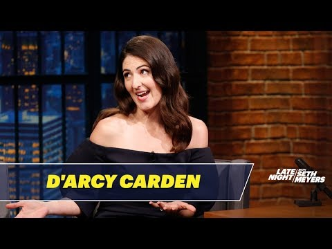 D'Arcy Carden Worked as a Nanny for Bill Hader