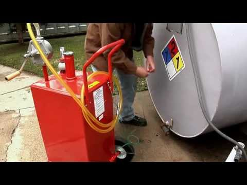 Roughneck HD UL Approved Fuel Caddy — 30-Gallon Capacity
