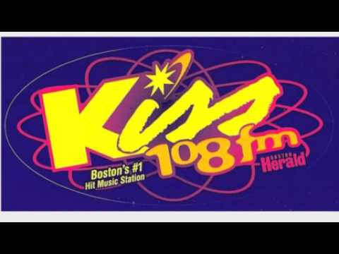 WXKS-FM Kiss108 Boston - Vinnie Peruzzi-Joel Denver - July 1988