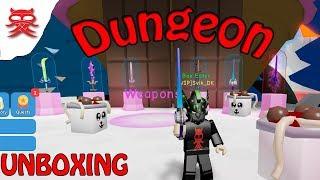 Dungeon - Unboxing - Dansk Roblox