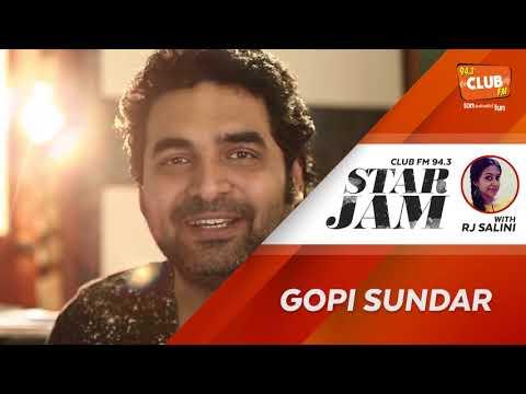 Gopi Sundar - Rj Salini - Star Jam - CLUB FM 94.3