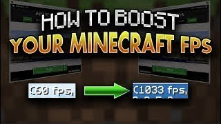 HOW TO DOUBLE YOUR FPS IN MINECRAFT 1.8.9!!!! (HYPIXEL BOOST) NEW CLIENT?!?!?!