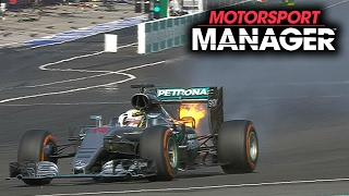 HILARIOUS END TO A RACE! | Motorsport Manager PC