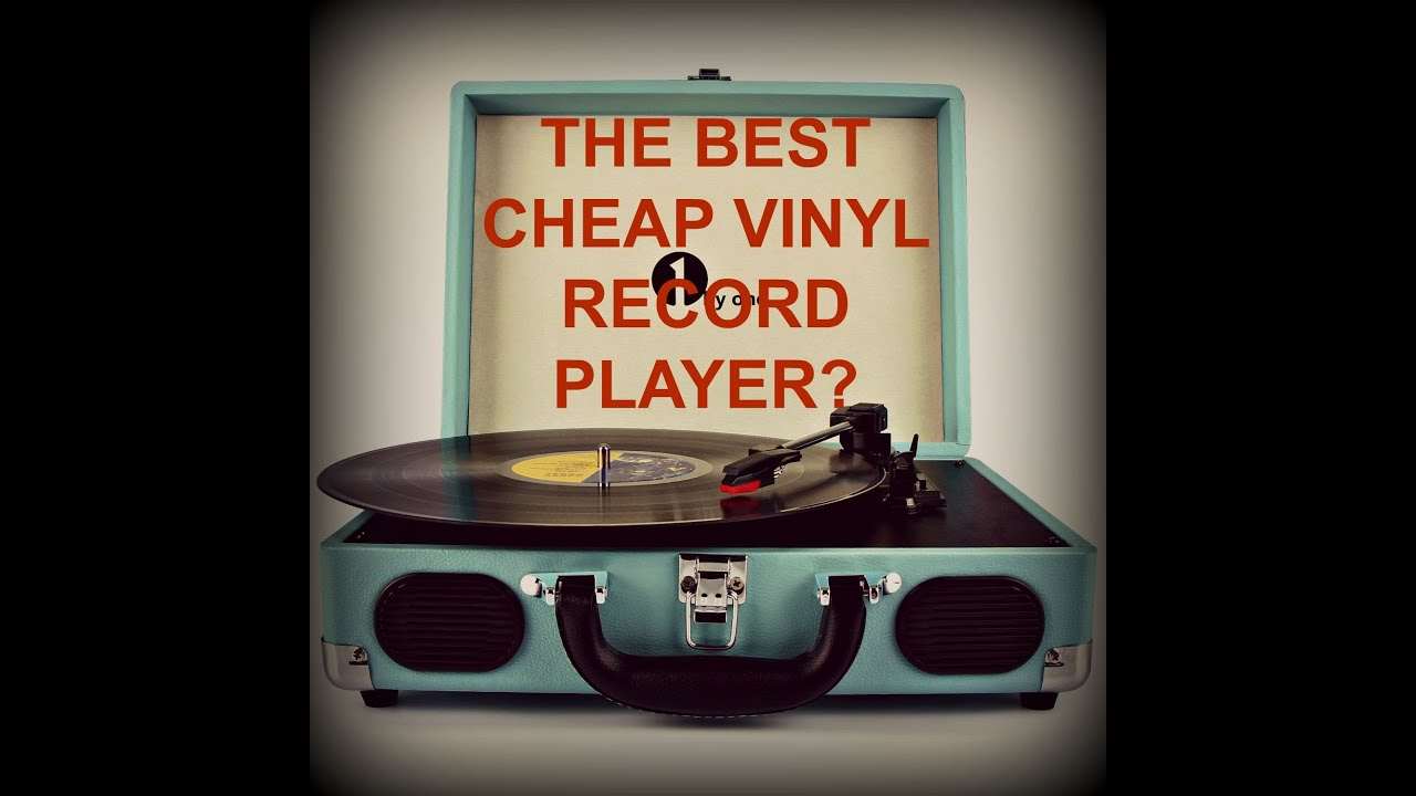 The Best Affordable Vinyl Record Player 1byone Vintage