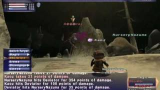 FFXI NM Saga #302: Deviator vs BST [Full Battle]