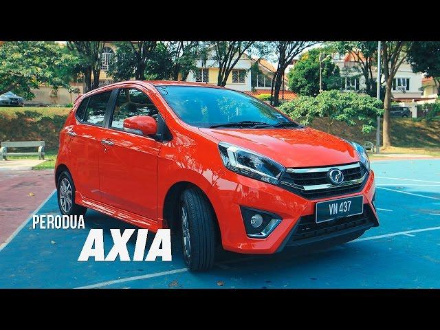 2017 Perodua Axia Review