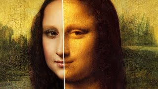 how MONA LISA may have looked in REAL LIFE