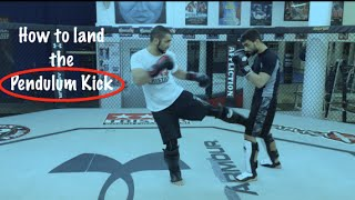 How to Fight: The Pendulum Kick - Powerful Muay Thai Technique. - Firas Zahabi