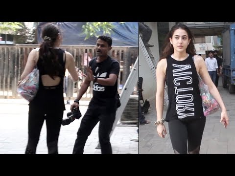 Sara Ali Khan gets ANGRY on Photographer for taking Her Photo