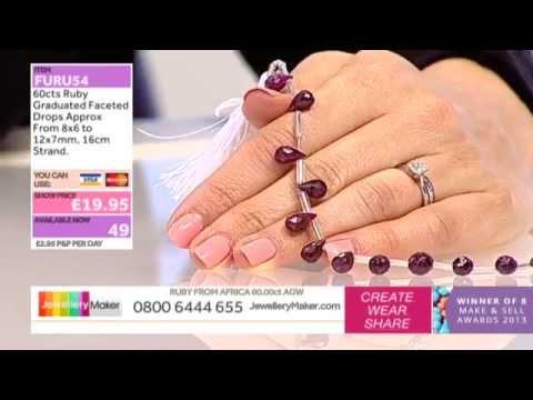 How to Make Beaded Jewellery: JewelleryMaker LIVE 21/10/2014
