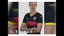 VfB Stuttgart Trikots 15/16