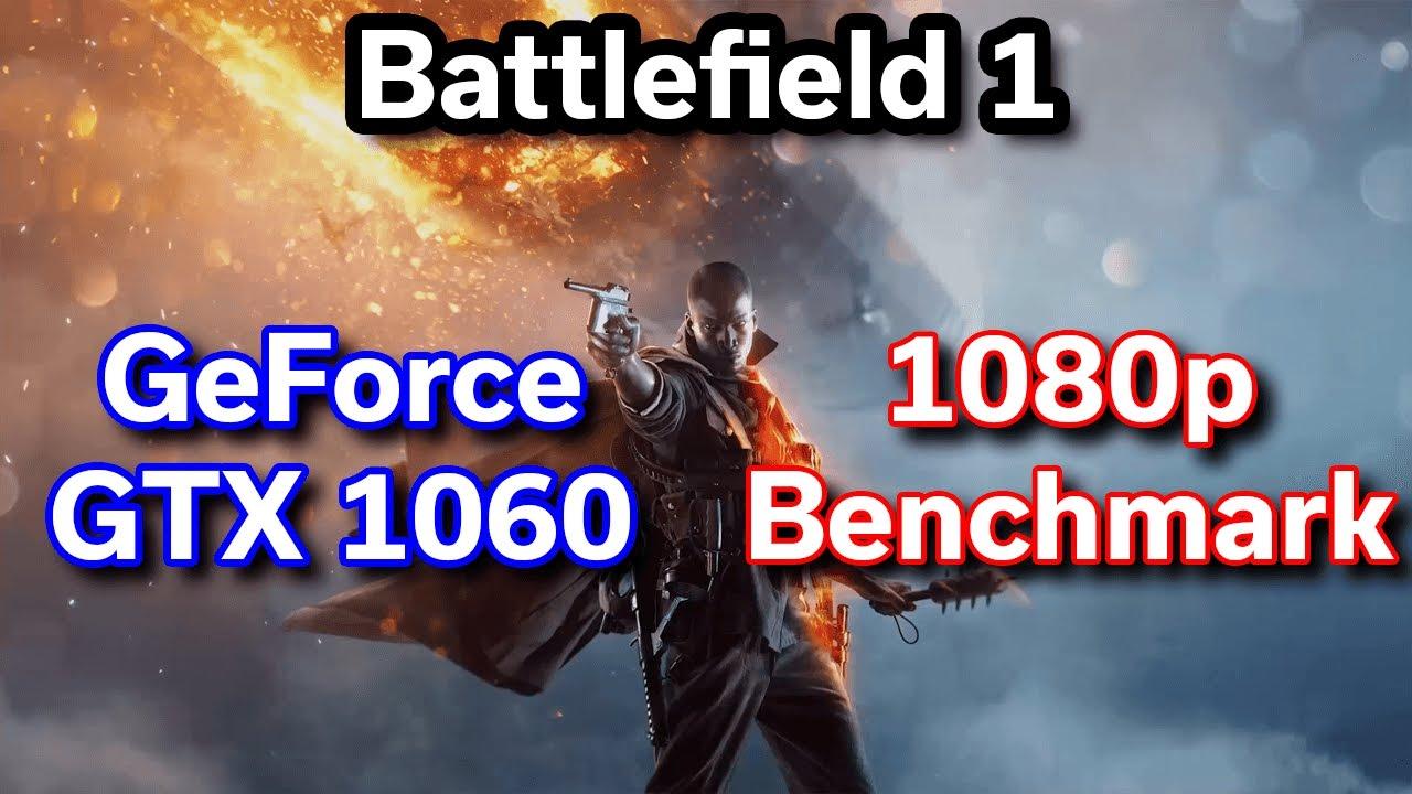 Battlefield 1 - GTX 1060 6GB - i7-6700HQ - MSI Apache Pro - Benchmark