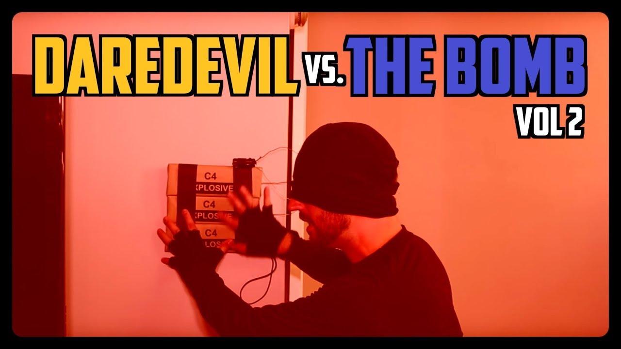 Sketch From Superheroes: Daredevil vs The Bomb 2