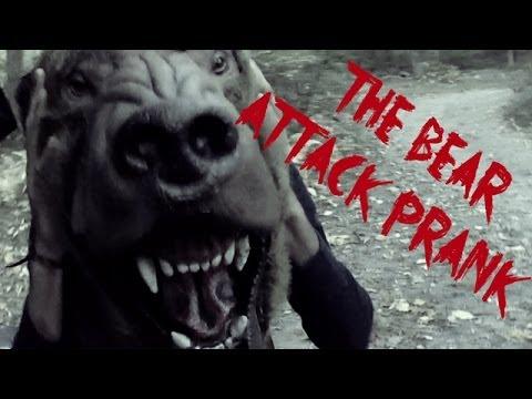 Bear Attack Prank - From BlackBoxTV