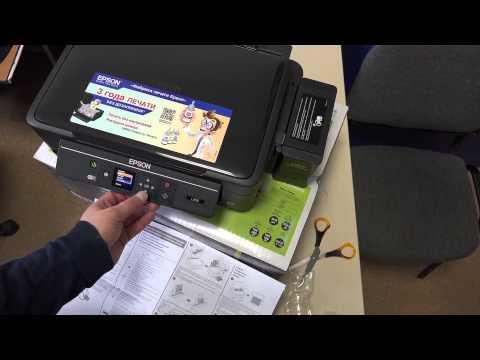 Новый принтер: Epson L456 Обзор фабрики печати