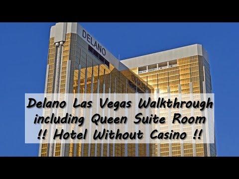 Delano Las Vegas - Walkthrough Including Queen Suite Room